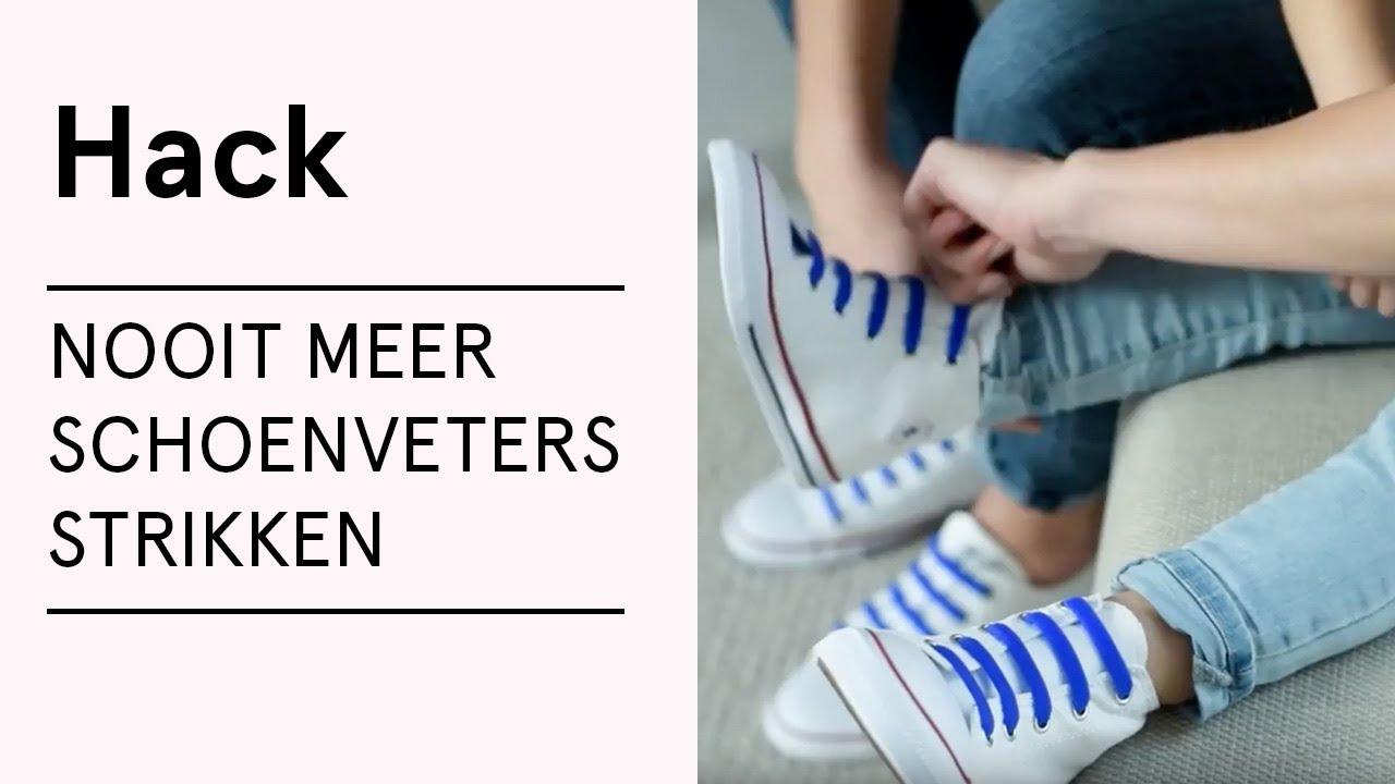 HACK Nooit meer schoenveters strikken VERITAS