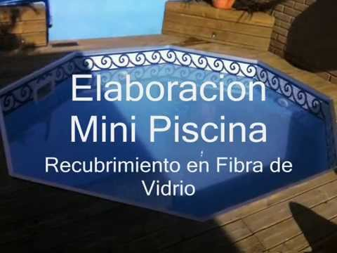 Como aplicar la fibra de vidrio para piscinas sobre for Compro piscina de fibra de vidrio