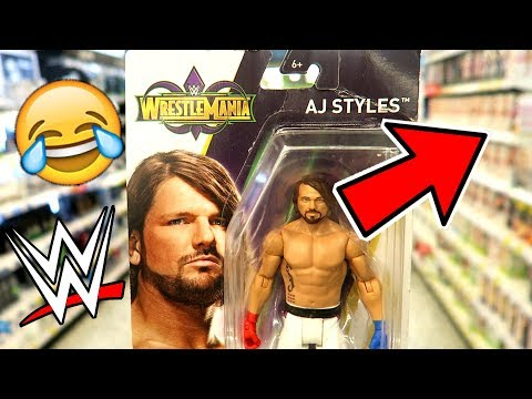 FUNNY WWE TOY HUNT - THE RETURN!