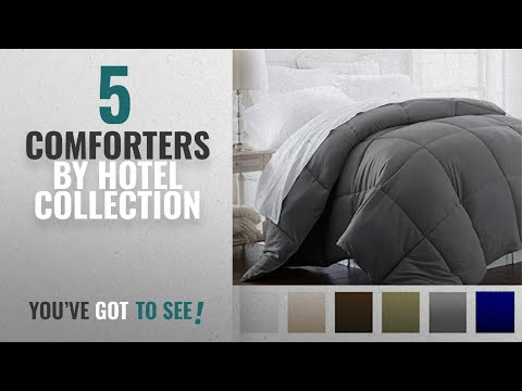 Top 10 Hotel Collection Comforters [2018]: Beckham Hotel Collection 1200 Series - Lightweight -