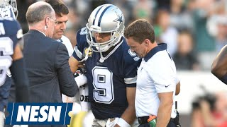 Tony Romo Suffers Fractured Left Clavicle