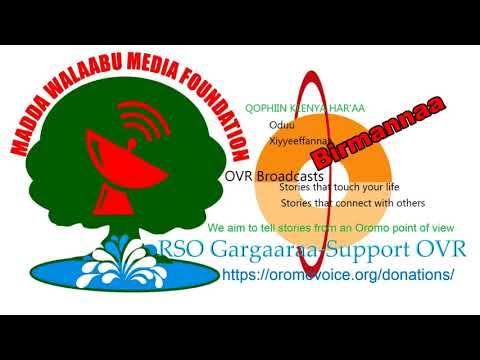Oromo Voice Radio (OVR) Broadcasts- 26 March 2018