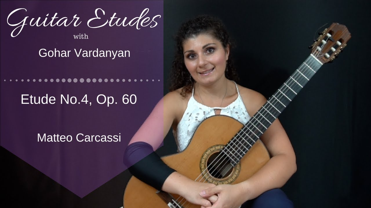Etude No. 4 - Guitar