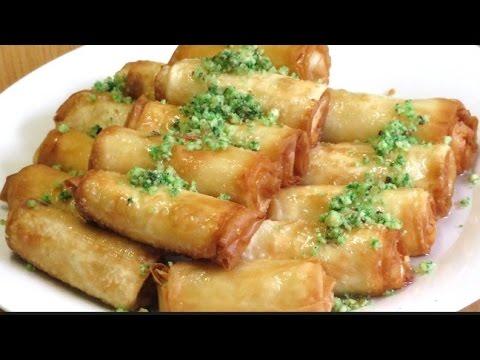 طريقة عمل زنود الست السريعة حلويات رمضان Youtube