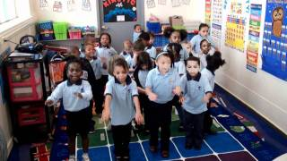 Hello Song by Kindergarten, First Grade, and Second Grade Students
