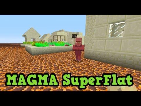 Minecraft Xbox - MAGMA Superflat Challenge