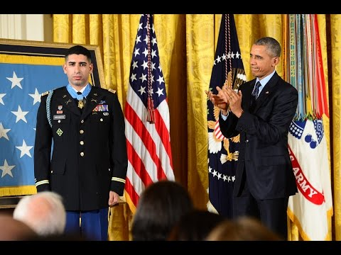 Medal of Honor Ceremony: Capt. Florent Groberg