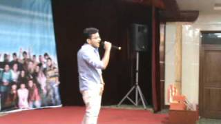indian performing chinese song ,jiamusi