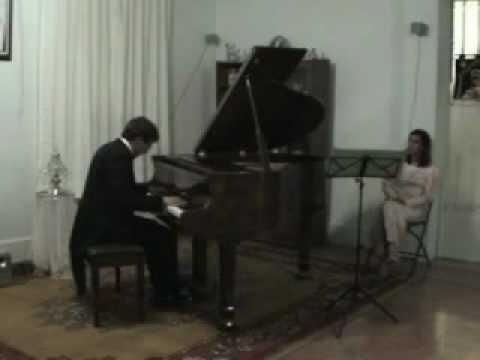 Franz Schubert - Impromptus d. 899, N° 4 - Carlos Marín Trigo (Piano)