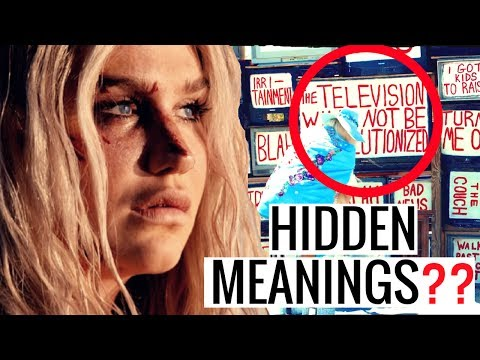 HIDDEN MEANINGS | KESHA - PRAYING...