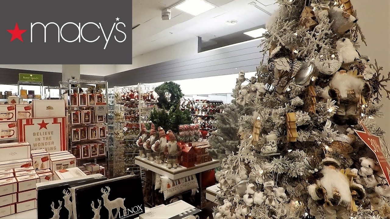 Macys Christmas Tree.Macy S Christmas 2018 Christmas Shopping Ornaments Decorations Home Decor Clothing Toys