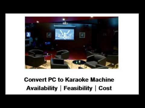 How To Convert Your PC into a Karaoke Machine?