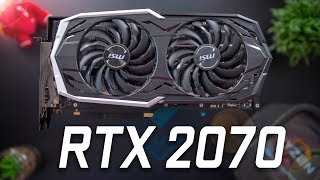 MSI RTX 2070 ARMOR Review - 15 Games Benchmarked