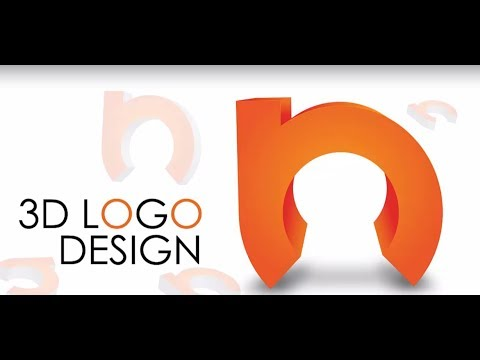 HOW TO MAKE 3-D LOGO | ADOBE ILLUSTRATOR | TUTORIAL thumbnail