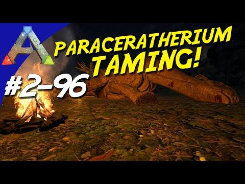 ARK Survival Evolved Dansk Sæson 2 - Ep 96 - PARACERATHERIUM TAMING!