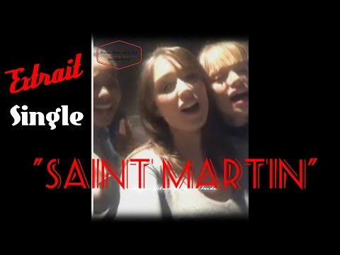 "Extrait du single ""Saint Martin"" Live Facebook Elsa"