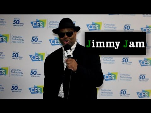Jimmy Jam Talks CES 2017, and Shares A Personal Story of Michael Jackson, Prince,