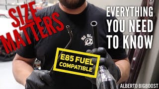 homepage tile video photo for 1000HP E85 LINES FUEL RAIL AND INJECTORS DIY DETAILED
