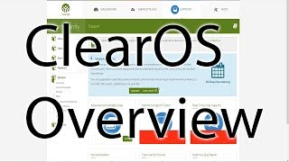 Taking a Look at ClearOS 7.3