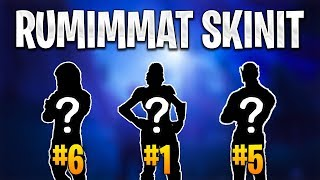 RUMIMMAT FORTNITE SKINIT! -FORTNITE TOP 10