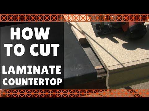 How to Cut Laminate Countertop – DIY