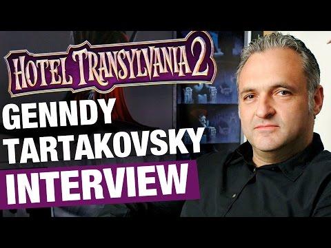 Genndy Tartakovsky Interview on Hotel Transylvania 2 | Rotoscopers