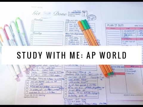 Study With Me: AP World History