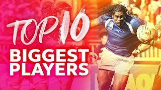 Rugby's Biggest Players | Best Tackles, Breaks and Carries from Tuilagi, Vunipola & More