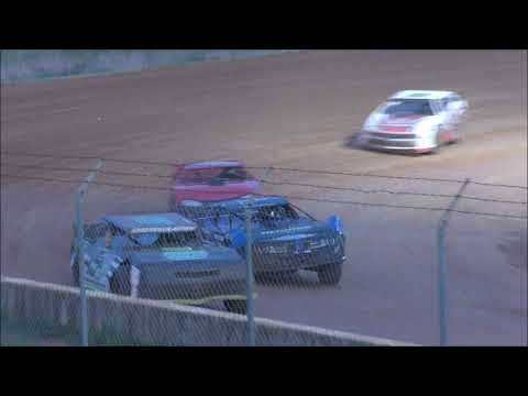 Street Stock Race at Natural Bridge Speedway on August 24, 2019. - dirt track racing video image