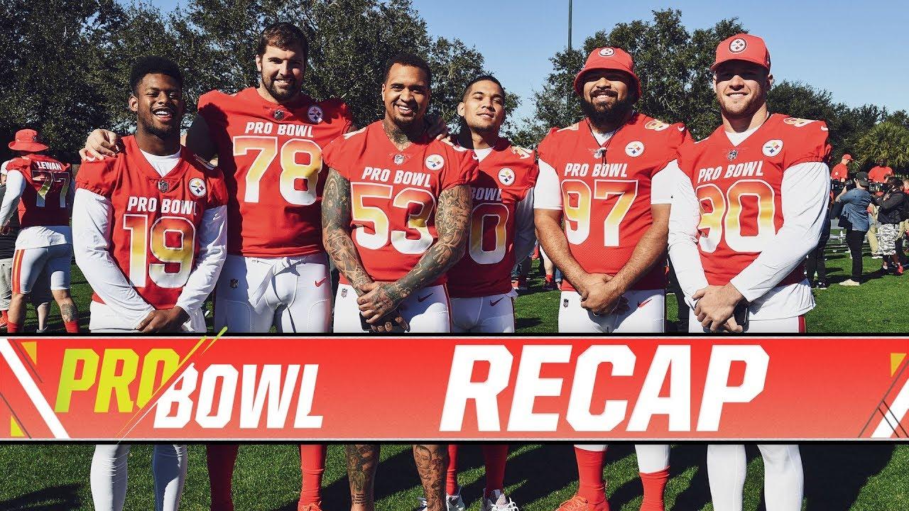 a354cecfca7 JuJu, Conner, Watt & More at 2019 Pro Bowl - Full Recap | Pittsburgh ...