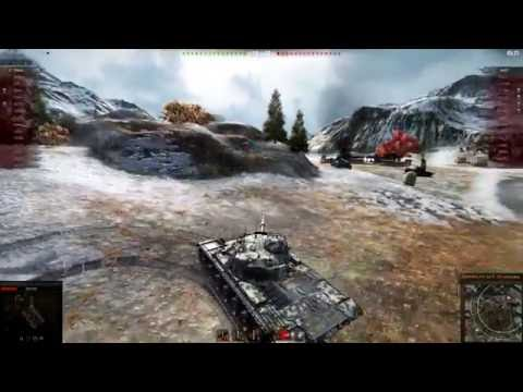 WoT Client 30 10 2016 - m48a1 patton - 1 против 4