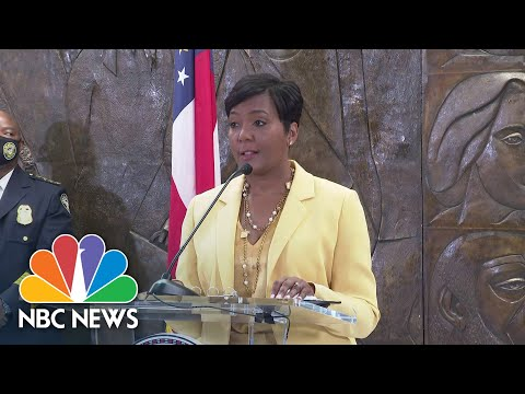 Atlanta Mayor Keisha Lance Bottoms Announces She Is Not Running For Re-Election | NBC News