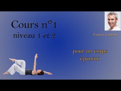 cours 1 Pilates et dos niveau 1 et 2