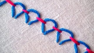 Hand Embroidery : Easy and Beautiful Stitch