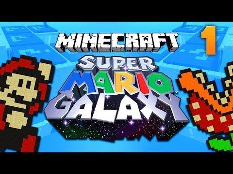 SUPER MARIO GALAXY MAP [1] ★ Minecraft Puzzle Adventure