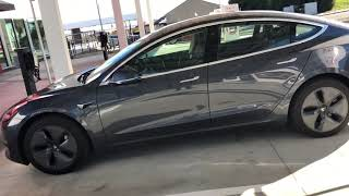 Tesla Model 3 spotted at Kettleman City Supercharger