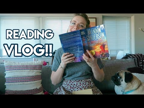 READING VLOG: Reading A 1000 Page Book!!