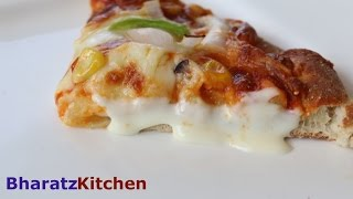 DOMINOS CHEESE BURST PIZZA - PART 1| cheese burst pizza homemade |