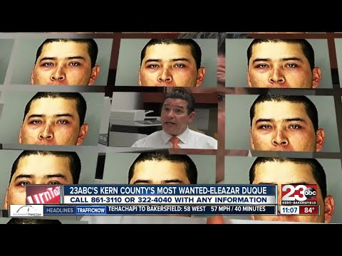 Kern County's Most Wanted-Eleazar Duque
