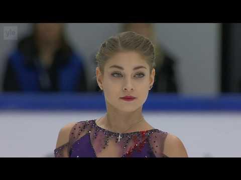 Alena KOSTORNAIA RUS 2 Triple Axels!!! Free Skate 2019 Finlandia Trophy