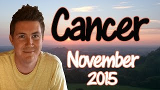 Horoscope for Cancer November 2015 | Predictive Astrology