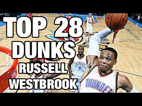 Russell Westbrook TOP 28 Dunks To...