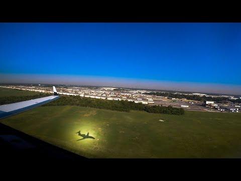 Dallas to Houston. Climb Via & Descend Via RNAV Departure and Arrival in a Phenom 300