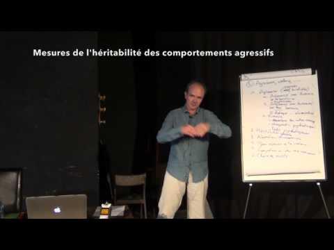 Génétique du comportement et de la personnalité - Jacques van Helden. 5. Agression