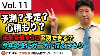 【英語】君の前に広がる3つの未来【Vol.11】