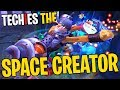 Techies the Space Creator - DotA 2 Funny Moments