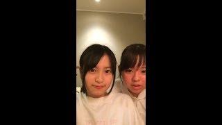 11:19 PM (UTC+9) インスタライブ with 宮里莉羅.