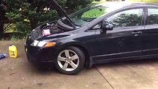 Honda Civic Water Pump Replacement.