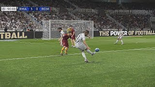 Recreación Real Madrid 3-0 Roma - Uefa Champions League 2018/19