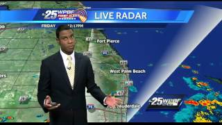 First Alert Forecast: Rainy afternoon on the way